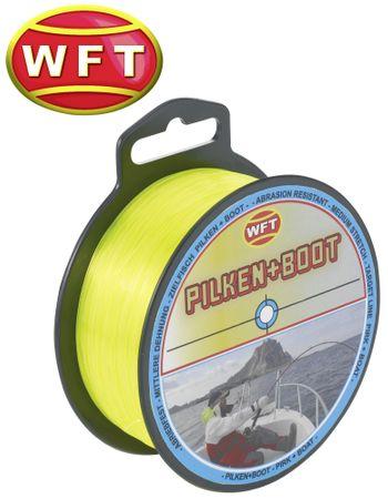 WFT Zielfisch Pilken & Boot 250m 0,40mm 11,8kg gelb - Angelschnur – Bild 1