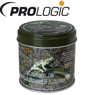 Prologic Mimicry Jungle Braided Line 400m 0,32mm 30lbs - Angelschnur – Bild 1