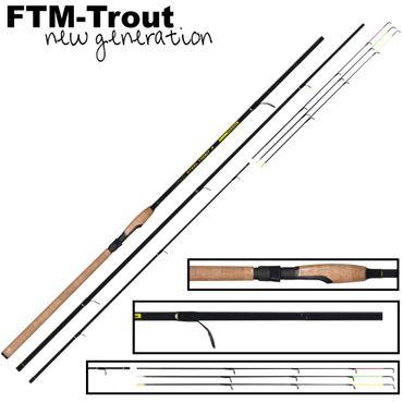 Angelrute FTM Steel Trout 2 3,60m 6-25g Forellenrute zum Sbirolinoangeln