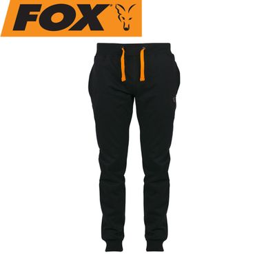 Fox Black Orange lightweight Jogger - Angelhose – Bild 1