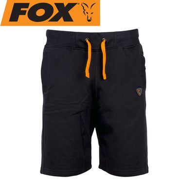 Fox Black Orange Jogger Short - Angelhose – Bild 1