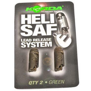 Korda Heli Safe Green - 2 Lead Clips – Bild 1