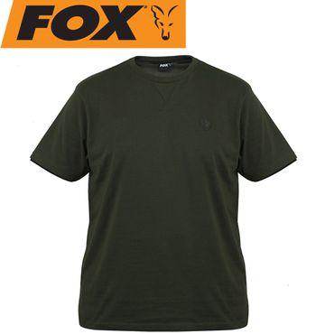 Fox Green Black T-Shirt - Angelshirt – Bild 1