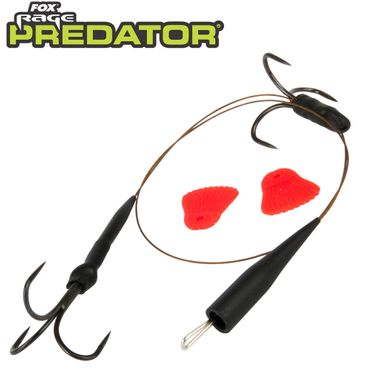 Fox Predator Quick Change Paternoster Trace Barbless - 32cm Vorfach – Bild 1