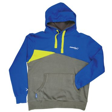 Fox Matrix Blue Grey Hoody - Angelpullover – Bild 2