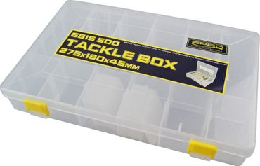 Spro Tackle Box 27,5x18x4,5cm - Angelbox – Bild 1