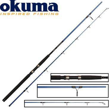 Okuma Baltic Stick 300cm 180g- Pilkrute zum Meeresangeln, Dorschrute zum Pilken, Meeresrute zum Dorschangeln, Angelrute für Dorsch