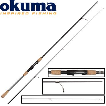 Okuma Alaris Spin 180cm 2-7g - Ultra Light Rute – Bild 1
