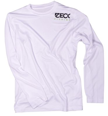 Zeck Longsleeve UV-Cool White - Angelshirt – Bild 1