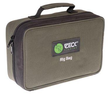 Zeck Rig Bag 29x19x15cm - Tackletasche für Welsvorfächer & Kleinteile, Angeltasche für Zubehör zum Welsangeln, Kleinteiletasche – Bild 3