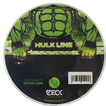 Zeck Hulk Line 250m 0,46mm 35kg - Wallerschnur zum Spinnangeln auf Welse, Geflochtene Welsschnur zum Vertikalangeln auf Waller – Bild 1