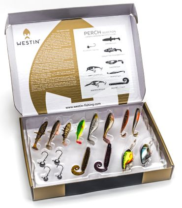 Westin Gift Box Perch Selection - Köderbox Barsch Angelköder Set – Bild 2