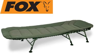 Fox Warrior II 6 legged XL bedchair 220x100x35cm - Karpfenliege – Bild 1