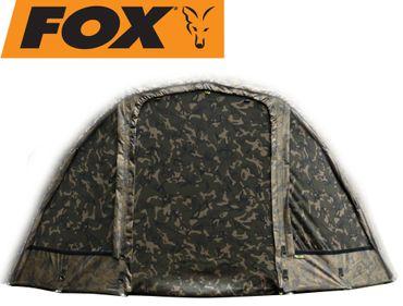 Fox Ultra 60 brolly full front Camo - Überwurf für Angelschirm – Bild 1