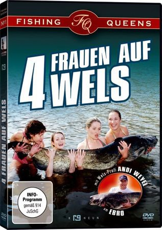 7 Wallerangeln DVDs Stefan Seuß Big River Teil 1 + 2,.. DVD Set – Bild 4