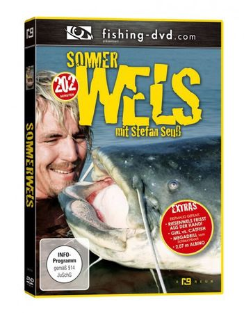 7 Wallerangeln DVDs Stefan Seuß Big River Teil 1 + 2,.. DVD Set – Bild 7