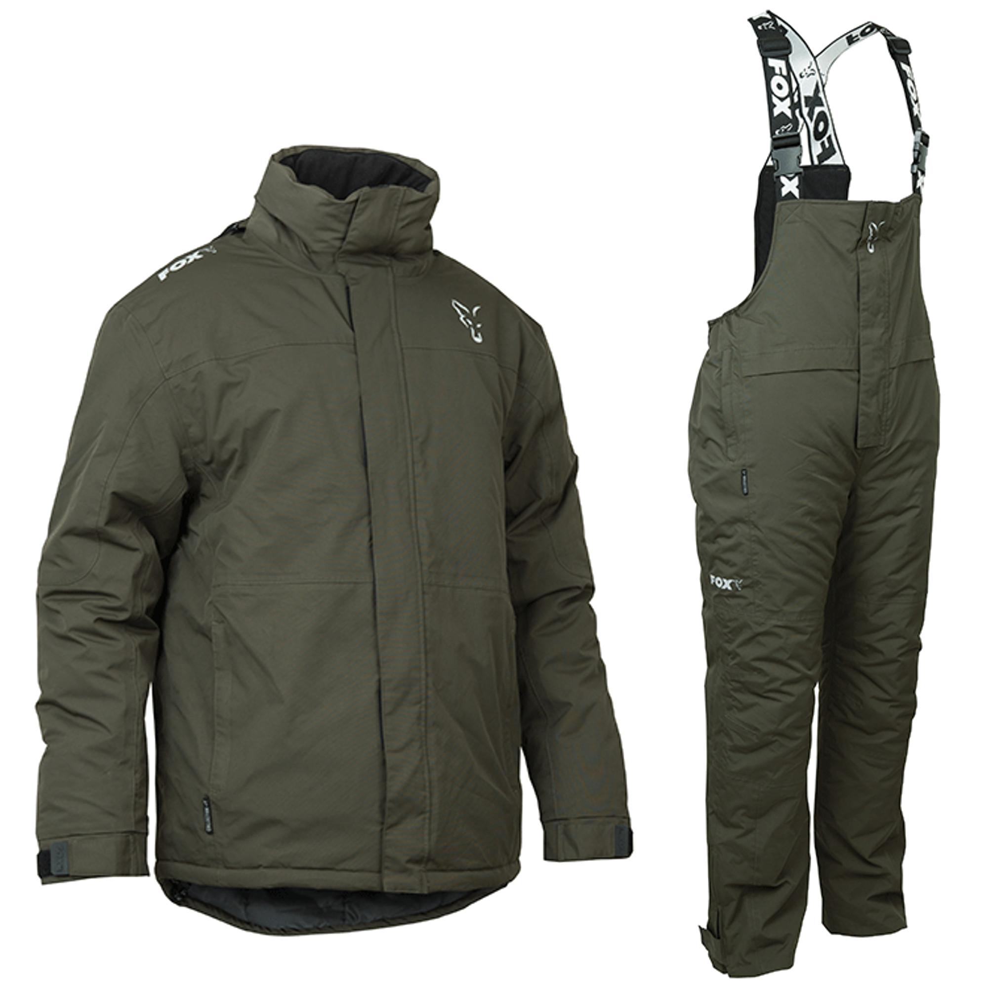 S, M, L, XL, XXL oder XXXL Fox Carp Winter Suit Thermoanzug