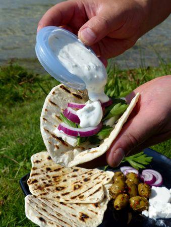 Auswärts Kochen Buch- Leckere Outdoor Rezepte Kochbuch für Angler – Bild 25