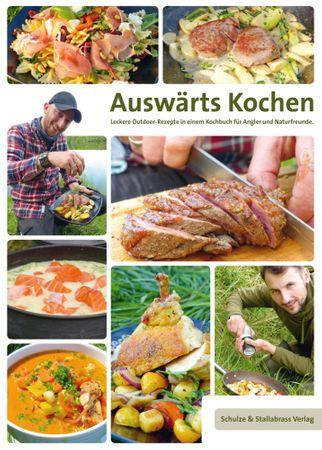 Auswärts Kochen Buch- Leckere Outdoor Rezepte Kochbuch für Angler – Bild 1