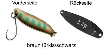FTM Spoon Hammer Blinker 3,2g - Forellenblinker – Bild 3