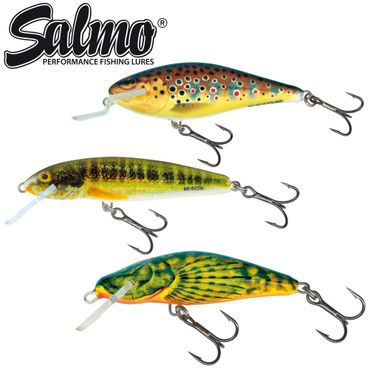 Salmo Trout Discovery Pack - 3 Forellenwobbler – Bild 1