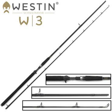 Westin W3 Powercast-T XH 248cm 20-80g - Spinnrute – Bild 1