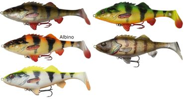 Savage Gear 4D Perch Shad - Gummifisch – Bild 1
