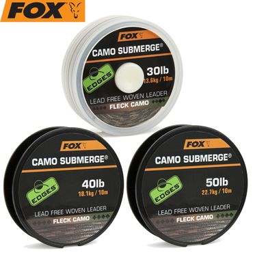 Fox Submerge Camo Lead free woven Leader - Vorfachschnur – Bild 1