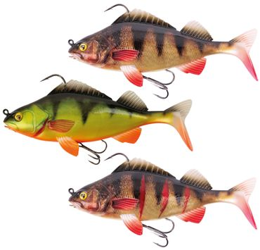 Fox Rage Replicant Perch - Swimbait Gummifisch – Bild 1