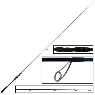 Bullseye Tip Whip 2,15 6-26g - Spinnrute – Bild 1