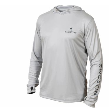 Westin Pro Guide UPF Long Sleeve GT Grey - Angelshirt Langarm – Bild 1