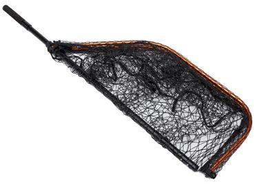 Savage Gear Kescher Pro Tele Folding Net Rubber Mesh L 65x50cm – Bild 2