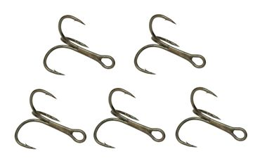 Fox Rage Drillinge Powerpoint Treble Hook Haken Drillingshaken  – Bild 2