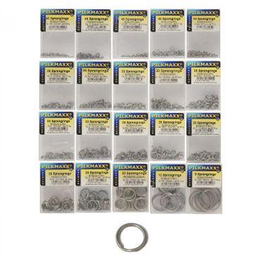 Rosco Sprengringe Edelstahl 4,3-29,5mm Durchmesser – Bild 1