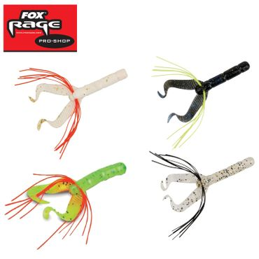 Fox Rage Warrior Fiddle Tail 8cm – Bild 1