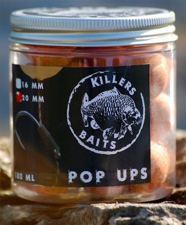 Carp Killers Pop Up Boilies French Water 100g (16mm / 20mm)