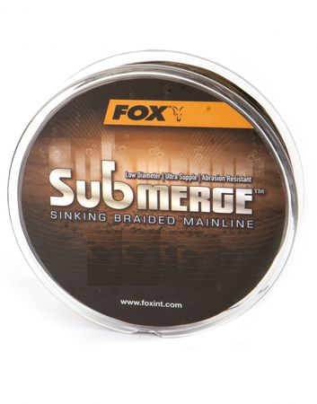 Fox Submerge sinking Braided Mainline geflochtene Karpfenschnur 300m