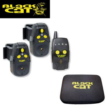 Black Cat Funkbissanzeiger Set (2 Bissanzeiger + 1 Receiver) – Bild 1