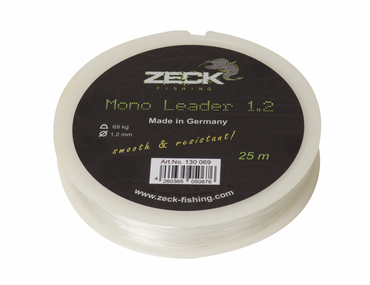 Zeck Mono Leader 1,2mm 69kg 25m