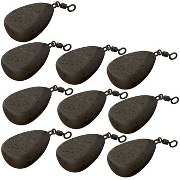 10 Fox Camotex Bleie Swivel Flat Pear