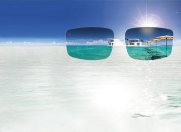 Lenz Optics Helmsdale Sunglass Edelstahlbügel / Acetatrahmen - Polbrille – Bild 4