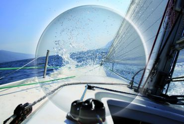 Lenz Optics Kaitum Sunglass Edelstahlbügel / Acetatrahmen - Polbrille – Bild 4