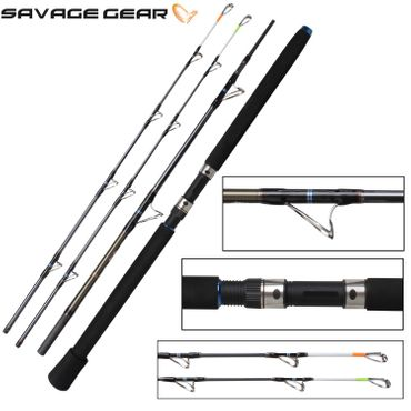 Savage Gear Nordic Big Game Travel 210cm 300g 20-50lbs Reiserute  – Bild 1