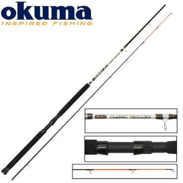 Okuma Trollingrute 240cm 10-20lbs Meeresrute – Bild 1