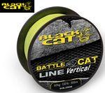 Black Cat Wallerschnur Battle Cat Line Vertical 300m 0,50mm 60kg gelb  001