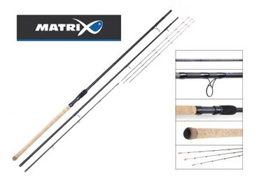 Fox Matrix Carboflex 80g Feeder Rod 3,9m Feederrute – Bild 1