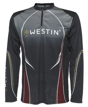 Westin Tournament Shirt LS Pirate Black – Bild 1