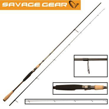 Savage Gear Drop shot XLNT2 258cm 10-30g Dropshot Rute – Bild 1
