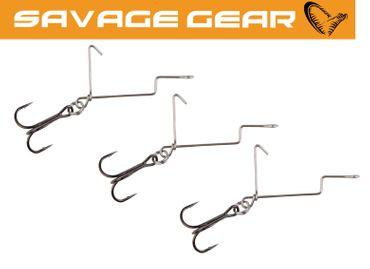Savage Gear 4Play Offset Treble Hooks - 3 Hakensysteme  – Bild 1