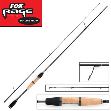 Fox Rage Terminator Pro Finesse Game Spin 1,98m 2-10g Ultralight Rute – Bild 1